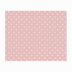Little  Dots Pink Small Glasses Cloth