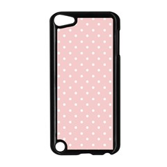Little  Dots Pink Apple Ipod Touch 5 Case (black) by snowwhitegirl