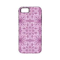 Ornamental Pink Apple Iphone 5 Classic Hardshell Case (pc+silicone) by snowwhitegirl