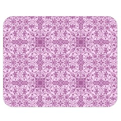 Ornamental Pink Double Sided Flano Blanket (medium)