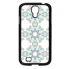 Embroidery Paisley Samsung Galaxy S4 I9500/ I9505 Case (black) by snowwhitegirl