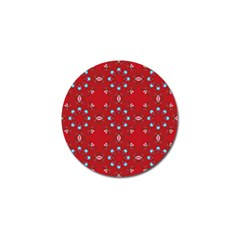 Embroidery Paisley Red Golf Ball Marker (10 Pack) by snowwhitegirl