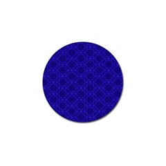 Victorian Paisley Royal Blue Pattern Golf Ball Marker (10 Pack) by snowwhitegirl