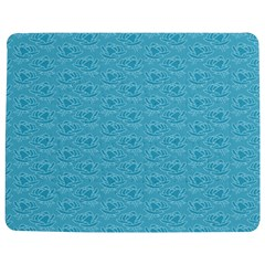 Retro Blue Pattern Jigsaw Puzzle Photo Stand (rectangular) by snowwhitegirl