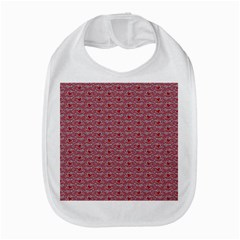 Retro Red Pattern Bib by snowwhitegirl
