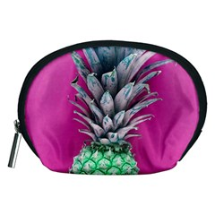 Green Pineapple Accessory Pouch (medium)
