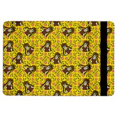 Girl With Popsicle Yellow Floral Ipad Air 2 Flip