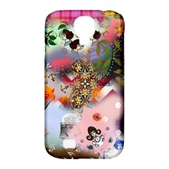 Pattern Patchwork Samsung Galaxy S4 Classic Hardshell Case (pc+silicone) by snowwhitegirl