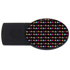 Eighties Bugs Usb Flash Drive Oval (4 Gb) by snowwhitegirl
