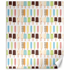 Candy Popsicles White Canvas 20  X 24  by snowwhitegirl