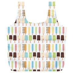 Candy Popsicles White Full Print Recycle Bag (xl) by snowwhitegirl