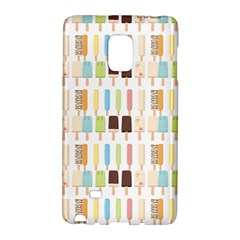 Candy Popsicles White Samsung Galaxy Note Edge Hardshell Case by snowwhitegirl