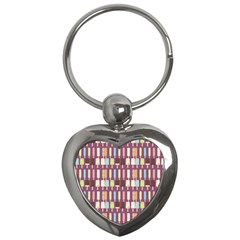 Candy Popsicles Purple Key Chains (heart)