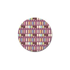 Candy Popsicles Purple Golf Ball Marker (10 Pack)