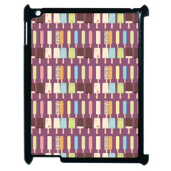 Candy Popsicles Purple Apple Ipad 2 Case (black)