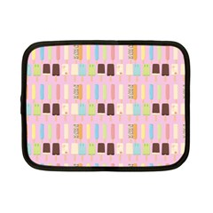 Candy Popsicles Pink Netbook Case (small) by snowwhitegirl