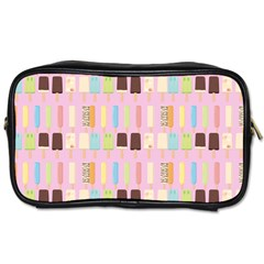 Candy Popsicles Pink Toiletries Bag (two Sides)
