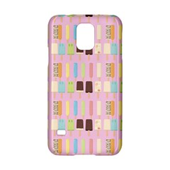 Candy Popsicles Pink Samsung Galaxy S5 Hardshell Case  by snowwhitegirl