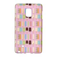 Candy Popsicles Pink Samsung Galaxy Note Edge Hardshell Case by snowwhitegirl