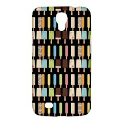Candy Popsicles Black Samsung Galaxy Mega 6 3  I9200 Hardshell Case by snowwhitegirl