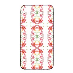 Tigerlily Apple Iphone 4/4s Seamless Case (black) by humaipaints
