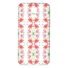 Tigerlily Samsung Galaxy S5 Back Case (white)