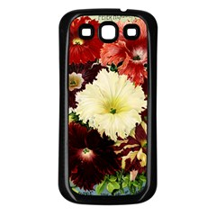 Flowers 1776585 1920 Samsung Galaxy S3 Back Case (black) by vintage2030