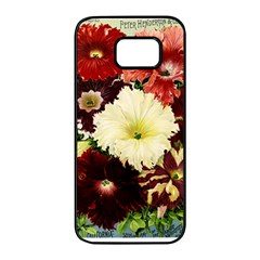 Flowers 1776585 1920 Samsung Galaxy S7 Edge Black Seamless Case by vintage2030
