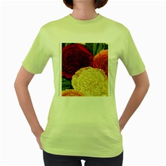 Flowers 1776584 1920 Women s Green T Shirt