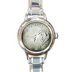 Grunge 1133689 1920 Round Italian Charm Watch by vintage2030