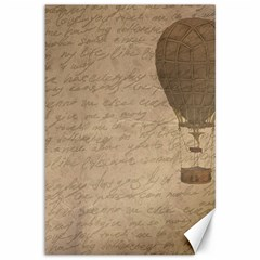 Letter Balloon Canvas 12  X 18  by vintage2030