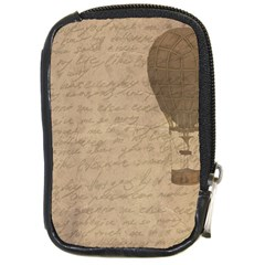 Letter Balloon Compact Camera Leather Case by vintage2030