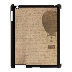 Letter Balloon Apple Ipad 3/4 Case (black) by vintage2030