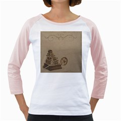 Camera Old Girly Raglan