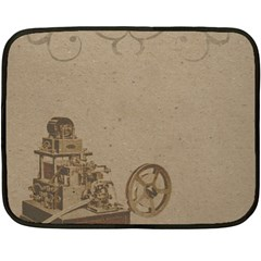 Camera Old Double Sided Fleece Blanket (mini)  by vintage2030