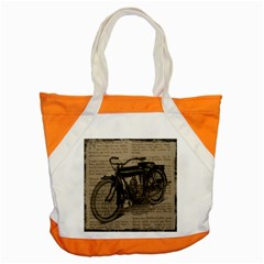 Bicycle Letter Accent Tote Bag by vintage2030