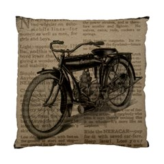 Bicycle Letter Standard Cushion Case (two Sides) by vintage2030