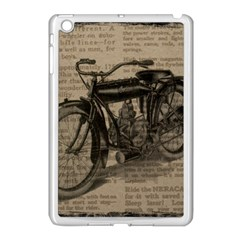 Bicycle Letter Apple Ipad Mini Case (white) by vintage2030