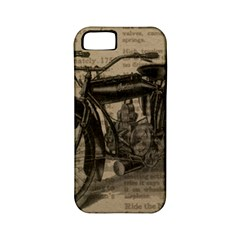 Bicycle Letter Apple Iphone 5 Classic Hardshell Case (pc+silicone) by vintage2030