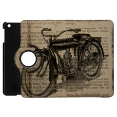 Bicycle Letter Apple Ipad Mini Flip 360 Case by vintage2030