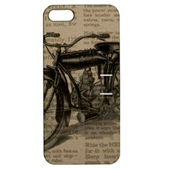 Bicycle Letter Apple Iphone 5 Hardshell Case With Stand by vintage2030