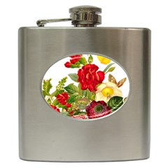 Flower Bouquet 1131891 1920 Hip Flask (6 Oz) by vintage2030