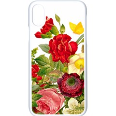 Flower Bouquet 1131891 1920 Apple Iphone X Seamless Case (white) by vintage2030