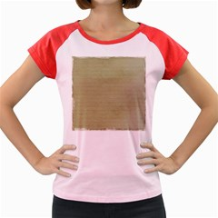 Old Letter Women s Cap Sleeve T Shirt by vintage2030