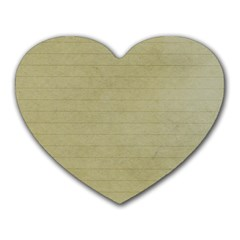 Old Letter Heart Mousepads by vintage2030