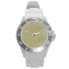 Old Letter Round Plastic Sport Watch (l) by vintage2030