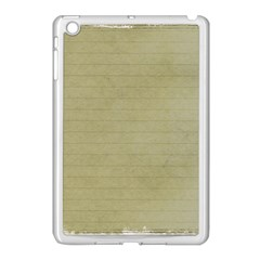 Old Letter Apple Ipad Mini Case (white) by vintage2030