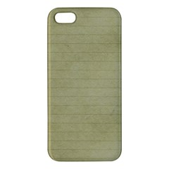 Old Letter Apple Iphone 5 Premium Hardshell Case by vintage2030