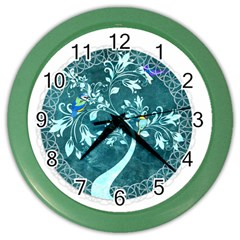Tag 1763342 1280 Color Wall Clock by vintage2030