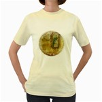 Tag 1763336 1280 Women s Yellow T-Shirt Front